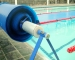 Mercury Rollup Station for gym and school pools - PowerPlastics Pool Covers