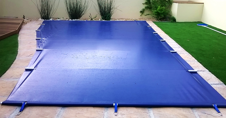 powerplastics solid safety cover powerplastics pool covers