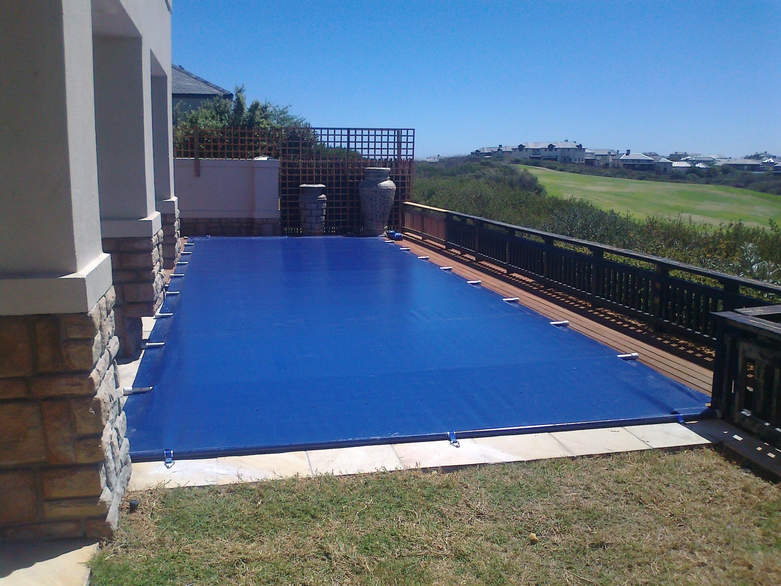 The energy saving safety cover powerplastics pool covers