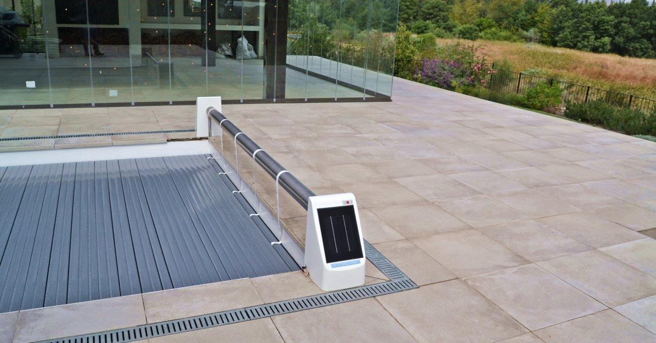 Solar Powered Slatted Cover Powerplastics Pool Covers
